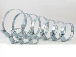 Хомут металический червячный NORMA 70-90мм