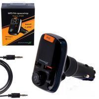 FM-трансмиттер Grand-X 97GRX Bluetooth V5.0, MicroSD + 2 два гнезда зарядки Quick Charge 3.0+2.4A