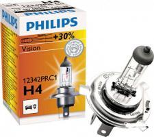 Лампа Philips Vision H4 +30% (12342PR C1) галоген