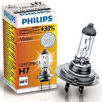 Лампа Philips Vision H7 +30% (12972PR C1)галоген