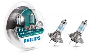 Автолампа Philips X-treme Vision H7 +130% 12V 55W PX26d 2 шт. (12972XV+S