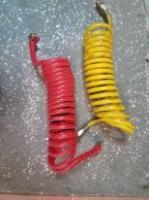 Шланг Воздушный Тормозной короткий на 22 мм желтый