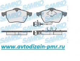 Колодки GDB1049 SAMKO 5SP453 пер WA A-100/6 (C4) с датч