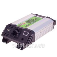 Преобраз. напряжения PULSO/IMU 520/12V-220V/500W/USB-5VDC2.0A/мод.волна/клеммы
