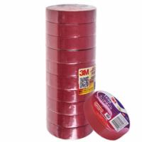 Изолента 3М 18мм*20м*0,15мм Red красная