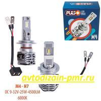 Лампы PULSO M4/H7/LED-chips CREE/9-32v/2x25w/4500Lm/6000K