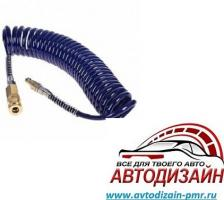 Alloid. Пневмошланг спиральный, полиуретан (5мм*8мм),  5 м 5805