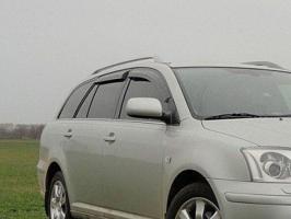 Ветровики Toyota Avensis 2003-2008 Универсал Vip Tuning