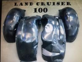 Подкрылки Пластмассовые Toyota Lend Cruiser 100