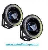 Фара доп. PL-1797 LED-2in1/12V/55W/D=85mm (PL-1797-LED)