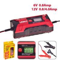 Зарядное устр-во VOIN VL-144 6&12V/0.8-4.0A/3-120AHR/LCD/Импульсное
