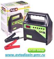 Зарядное устр-во PULSO BC-15860 6-12V/6A/15-80AHR/светодиодн.индик