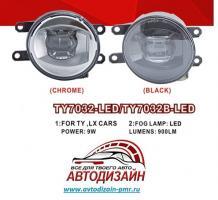 Фары доп.модель Toyota Cars/TY-7032LED/9W-900Lm/эл.проводка