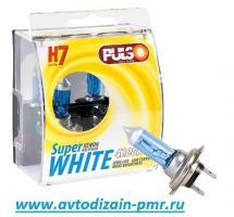 Лампы PULSO/галогенные H7/PX26D 12v55w super white/plastic box (LP-72551)