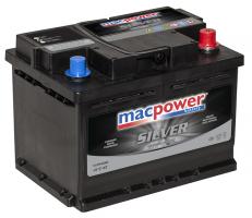 АКБ MacPower 55Ah 500A (- +)
