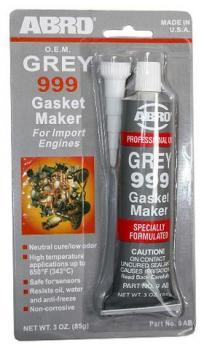 Герметик ABRO-999 (9-AB-R)Фирменный Серый 85гр.