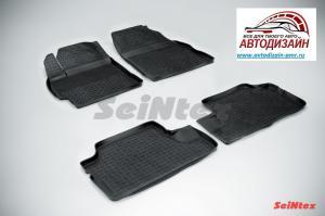 Коврики SeiNtex с высоким бортом Toyota Corolla X (300N/MC) 2007-2013