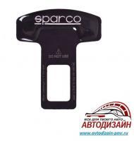 Заглушка ремня безопасности алюминиевая Sparco