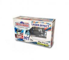 Автолампа MITSUMORO Н1 12v 55w   P14,5s +150 laser effect (ближний, дальний, птф)