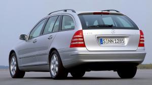 Mercedes Benz C-klasse Wagon (S203) 2001-2006г. ветровики. HIK