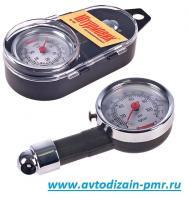 Манометр Штурмовик/AC-103/psi-кg/см2/0.5~7/Кейс