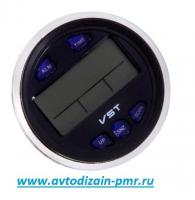 Термометр внутр. наруж./часы/вольтметр/подсветка VST 7042V