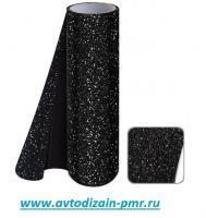 Декоративная пленка 1.52м х 28м Fash point black(Черный диамант)карбон TS-03