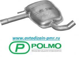 Глушитель Резонатор Polmostrow Средняя часть VW PassaT B3/4 88-96г 3020