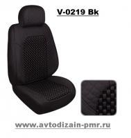 Набор чехлов V-0219 Bk полный к-т экокожа черные