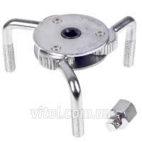 Alloid. Съемник фильтра краб 64 - 120 мм, прямой.С-4566A