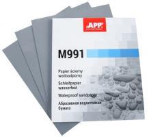 APP Наждачная бумага водостойкая 230mm x 280mm P_600  Matador (991А0600)