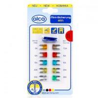 Предохранитель /ALCA 670000/плоские набор ''mini'' 10 шт. блистер 5-30А (ART670000)