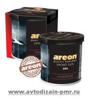 Освежитель воздуха AREON GEL CAN Sport Lux Platinum (GSL03)