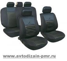 Набор чехлов MILEX/Tango AG-T24016 полн к-т/2пер+2задн+5подг+опл/черн