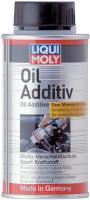 LM1011 Присадка в масло с MoS2 (молибден) 125 мл 1011