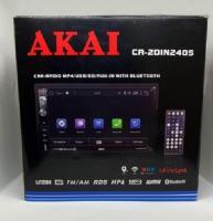"2DIN мультимедийный центр с 7"" TFT сенсорным дисплеем AKAI CA-2DIN 2405 Android GPS"