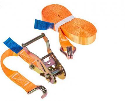 Стяжка груза 6м 1,5т оранжевая узкаяполиэстер.  (SRD029-1.5T)