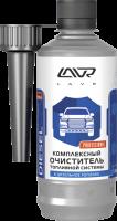 Ln2124 Комплексный очиститель топливной системы присадка в ДТ (на 40-60л) с насадкой LAVR 310 мл