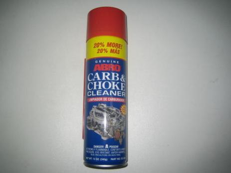 Очиститель Карбюратора ABRO фирм CC200 340гр.+20%