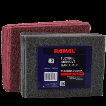 Абразивное волокно RANAL 150*200 красное