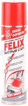 Эфир Быстрый старт спрэй 335мл Felix